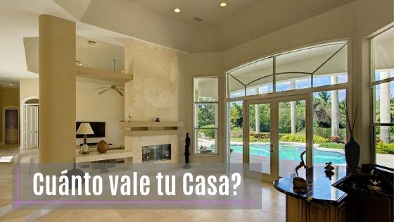 Cuánto vale tu casa exactamente?