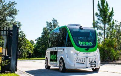 Se inaugura el primer Autobus no tripulado en Lake Nona.