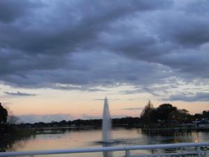 Fuente del lago