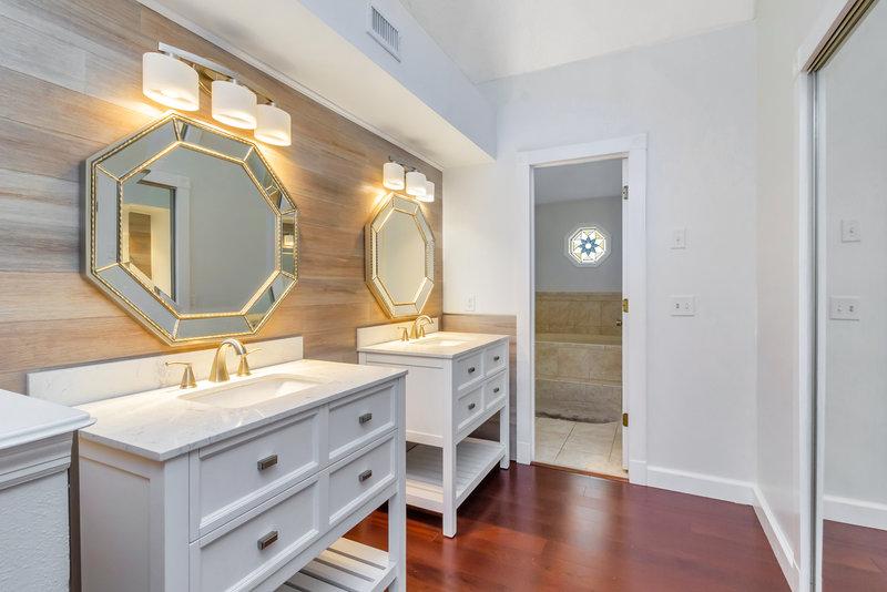 Baño remodelado Seminole Estates
