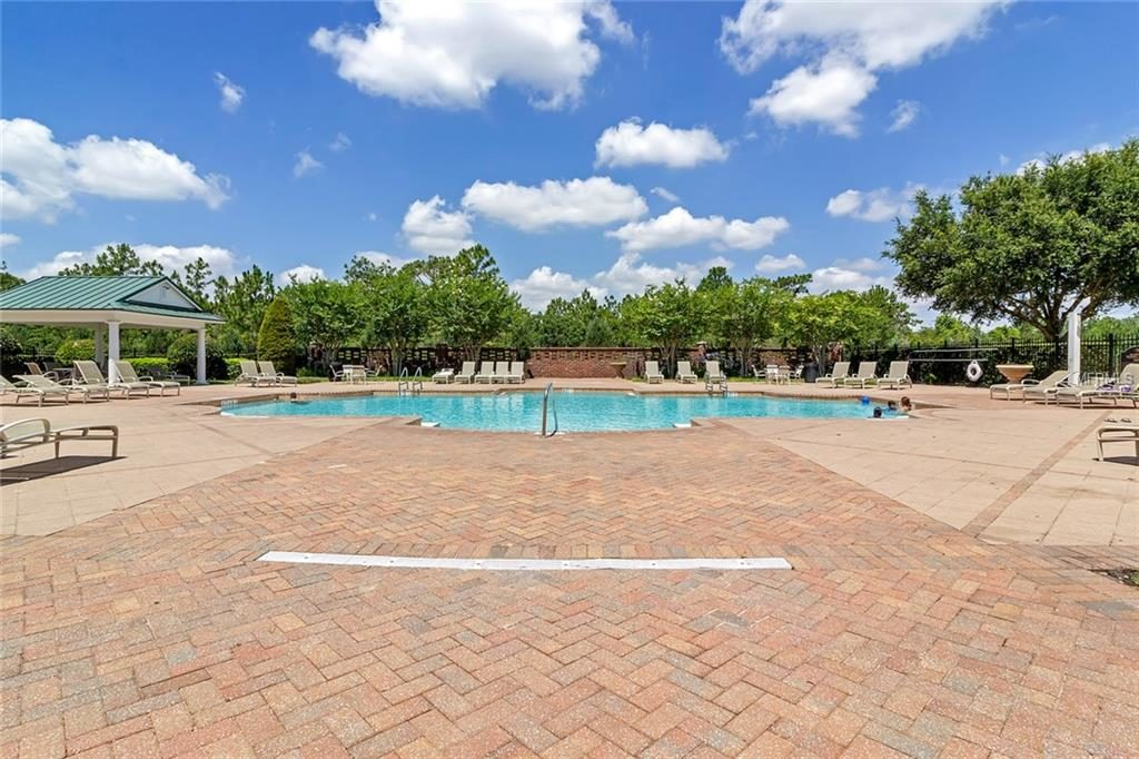 piscina comunitaria en lake nona
