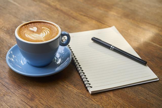 Tomando café con mis clientes