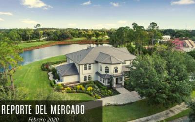 Reporte del Mercado Inmobiliario en Orlando, Febrero 2020.