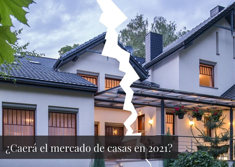 ¿Se acerca una caída del mercado inmobiliario en 2021?