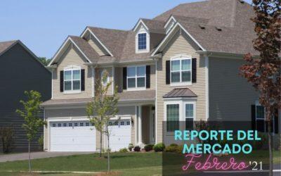 Reporte del mercado de casas en Orlando – Febrero 2021